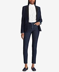Lauren Ralph Lauren Petite Regal Skinny Jeans