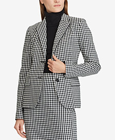 Lauren Ralph Lauren Checkered Blazer