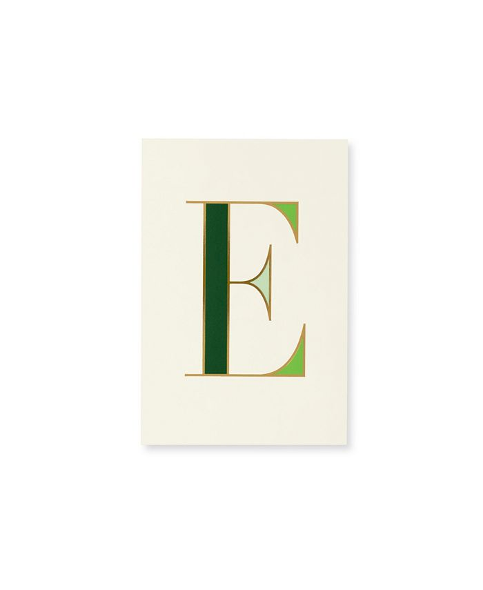 Kate Spade - KSNY It's Personal Initial Collection Notepad E
