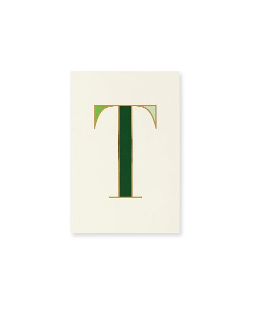 Kate Spade New York It's Personal Initial Collection Notepad, T