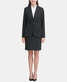Tommy Hilfiger Printed Blazer & Skirt