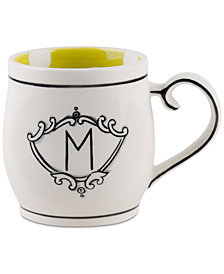 Home Essentials Molly Hatch Monogram Mug, Letter M