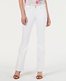 Petite Curvy-Fit Low-Rise Boot-Cut Jeans, Created for Macy's