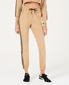 Waisted Two-Stripe Track Pants