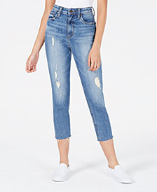 STS Blue Distressed Cropped Skinny Jeans