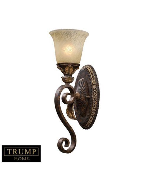 ELK Lighting Regency 1-Light Wall Sconce in Burnt Bronze