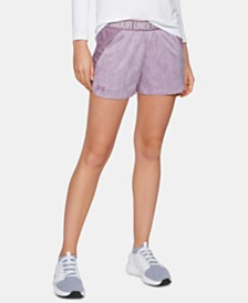 Under Armour Jacquard Play Up Shorts