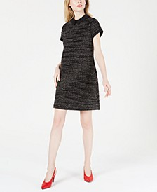 Collared Printed Shift Dress, Created for Macy's