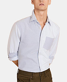 Brooks Brothers Men's Colorblocked Slim Fit Oxford Shirt