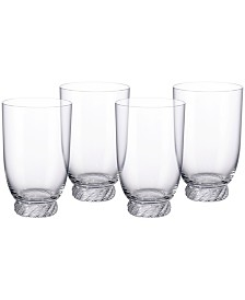 Villeroy & Boch Montauk Highball Tumbler, Set of 4