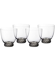 Montauk Sand Double Old Fashioned Tumbler, Set of 4