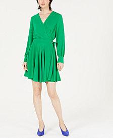 Bar III Wrap Dress, Created for Macy's