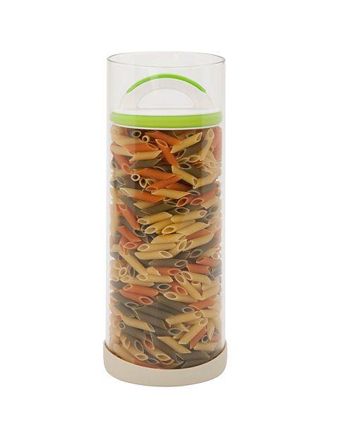 Honey Can Do Adjustable Lid Large Storage Jar