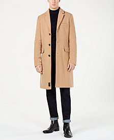 Calvin Klein Jeans Men's Wool Blend Overcoat