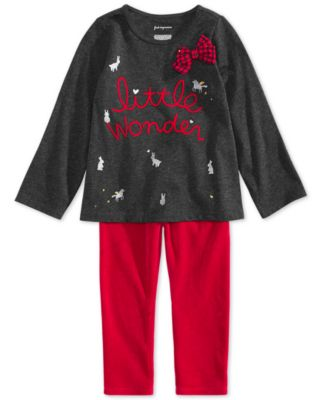 6736c5b1dea78e This item is part of the First Impressions Baby Girls Holiday Wonder  Graphic Tunic & Leggings Separates, Created for Macy's