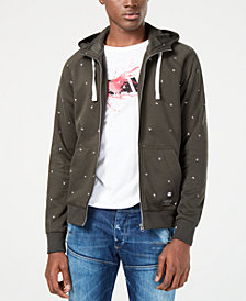 G-Star RAW Mens Dot-Print Sweatshirt, Created for Macy's