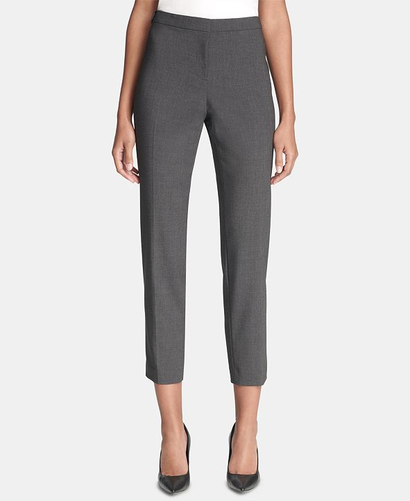 Calvin Klein Highline Skinny Cropped Dress Pant