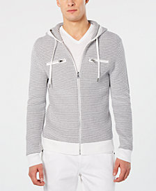 I.N.C. Men's Textured Zip-Front Hoodie, Created for Macy's