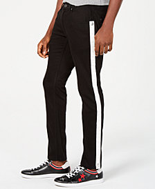 I.N.C. Men's Skinny-Fit Stretch Side-Stripe Jeans, Created for Macy's