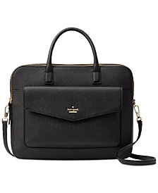 kate spade new york Laptop Case 13 Inch Double Zip Saffiano Leather Bag