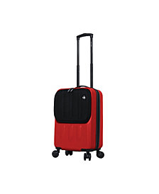 Mia Toro Italy Furbo Smart Hardside Spinner Luggage Carry-On