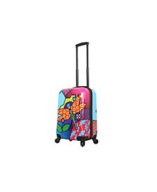 "Mia Toro Italy Allegra Pop Dragonfly 20"" Carry On"