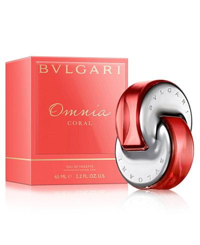 BVLGARI Omnia Coral Eau de Toilette Spray, 2.2 oz