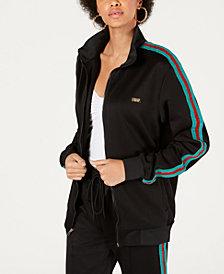 Reason Glitter-Strip Track Jacket