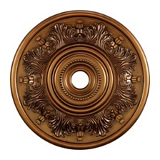 "Lauderdale Medallion 30"" in Antique Bronze Finish"