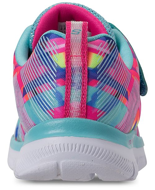 5d82e9fd7d0d ... Skechers Little Girls  Skech Appeal 2.0 - Color Me Casual Sneakers from  Finish ...