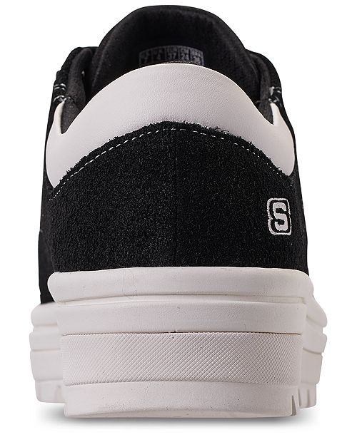 e75af6187a56 ... Skechers Women s Street Cleat - Back Again Casual Sneakers from Finish  ...