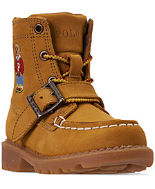 Polo Ralph Lauren Toddler Boys' Ranger High II Bear Boots from Finish Line
