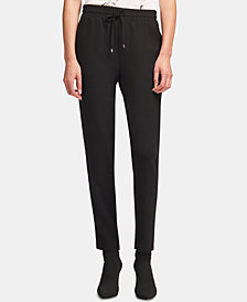 DKNY Drawstring Pull-On Pants, Created for Macy's