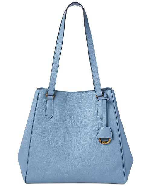 7a7d684f2f Lauren Ralph Lauren Huntley Leather Tote   Reviews - Handbags ...