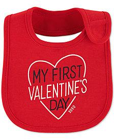 Carter's Baby Boys or Girls My First Valentine's Day Bib