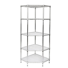 Honey Can Do 5-tier Corner Shelving Unit