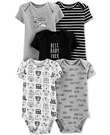 Carter's Baby Boys 5-pk. Printed Bodysuits