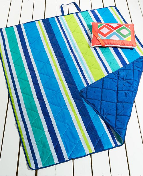 Martha Stewart Collection CLOSEOUT! Beach Blanket Collection, Created for Macy's