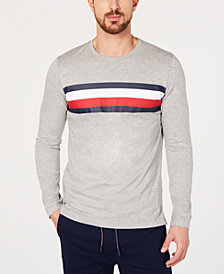 Tommy Hilfiger Men's Modern Essentials Logo-Stripe T-Shirt