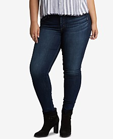 Silver Jeans Co. Plus Size Suki Curvy-Fit Skinny Jeans