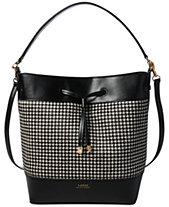 Lauren Ralph Lauren Debby Calf Hair Drawstring Handbag ec15fad8c4