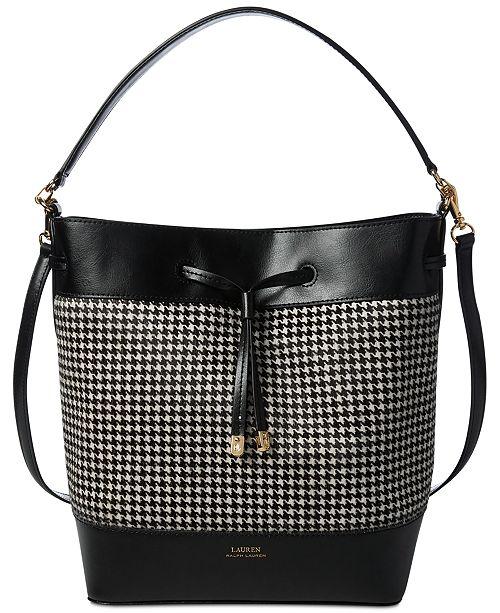Lauren Ralph Lauren Debby Calf Hair Drawstring Handbag   Reviews ... 5646486633a2c