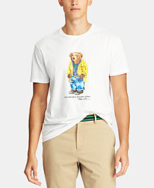 Polo Ralph Lauren Men's Classic Fit Polo Bear  T-Shirt, Created for Macy's