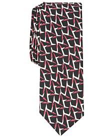 Original Penguin Men's Shanahan Skinny Abstract Tie