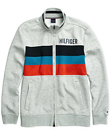 Tommy Hilfiger Adaptive  Men's Gallen Mock Neck Sweatshirt with Magnetic Zipper