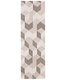 "Surya Cosmopolitan COS-9301 Cream 2'6"" x 8' Runner Area Rug"