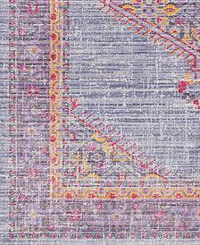 "Surya Germili GER-2308 Violet 18"" Square Swatch"