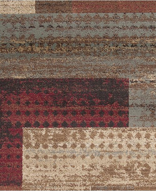"Surya Riley RLY-5004 Dark Red 18"" Square Swatch"