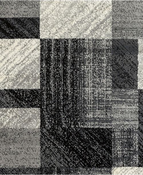 """Surya Riley RLY-5102 Charcoal 18"""" Square Swatch"""