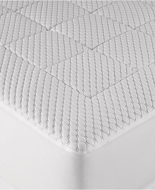 Martha Stewart Collection Dream Science Washable Memory Foam King Mattress Pad by Martha Stewart Collection, Created for Macy's
